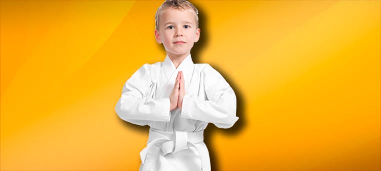 PreSchool Karate kid bowing