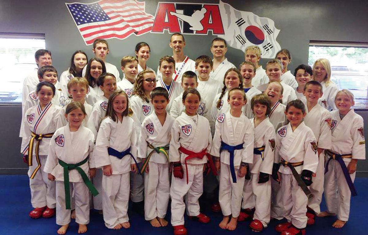 Bloomington ATA Family Martial Arts students